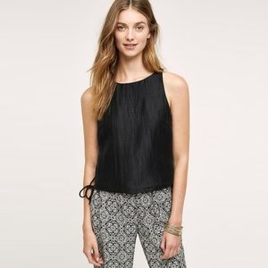 HD in Paris Minette Black Sleeveless Top Size 2
